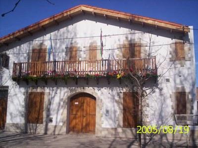 Sede del Centro Vascop 'Guillermo Larregui' de Chacabuco