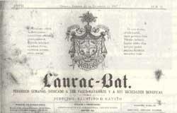 Publicación histórica de la euskal etxea cubana
