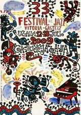 Cartel 33 edición del Festival de Jazz de Vitoria-Gasteiz