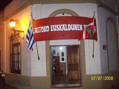 Sede de 'Saltoko Euskaldunen Taldea' de Salto, Uruguay