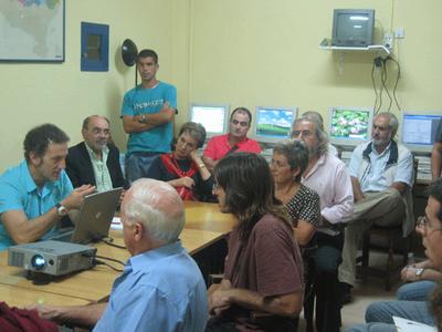Presentación de las las clases de euskera de Euskal Etxea de Murcia