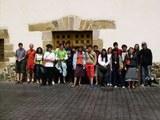 Visita de los jóvenes de Azkarate a Eskoriatza