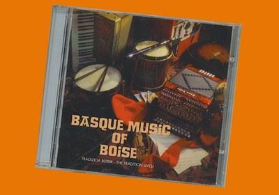 'Basque Music of Boise' se editó inicialmente en formato cassete y en la actualidad se halla disponible en formato CD. Imprescindible para conocer la tradición musical popular vasca de Boise y del Noreste de Estados Unidos (foto EuskalKultura.com)