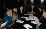 Meeting of the Board of the Chilean Navarrese Club a few years ago (photo EuskalKultura.com)