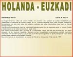 Basque street names in General Dorrego
