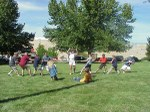 Tug of war at the Homedale Basque picnic