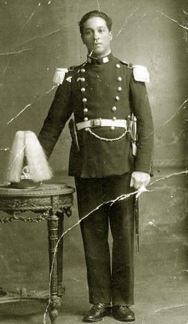 Un miembro de la familia Arismendi