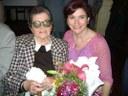 Las Flores distinguió a la vasco-argentina Raquel Rotaeche en el Día Internacional de las Personas de Edad
