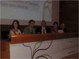 09) The NABO Panel, Lisa Corcostegui, Philippe Acheritogaray, delegate from Uruguay, Mary Gaztambide, Pierre Etcharren
