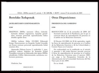 El Gobierno Vasco convoca seis becas para México, Argentina, Chile, Colombia, EEUU y Vitoria-Gasteiz
