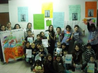 Celebran con éxito en Mar del Plata 'Harri Koskorra', la primera fiesta marplatense de las ikastolas
