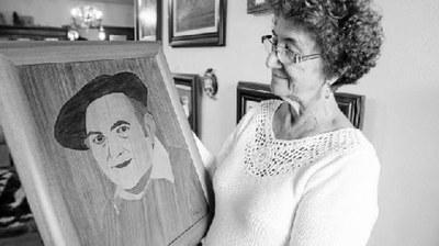 José Joaquín Domínguez Arbe, taraceísta, 'pintor sin pinceles', con obra en Euskadi y la Diáspora