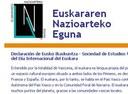 EuskoSare lanza una novedosa campaña de apoyo y adhesiones al Euskararen Eguna a través de internet