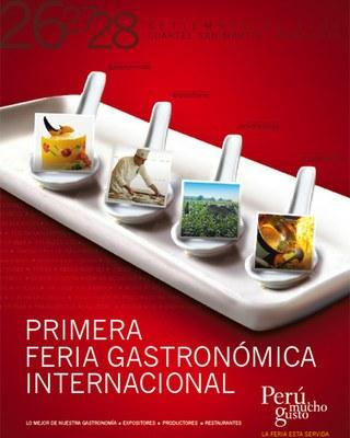 Los chefs vascos Mikel Alonso, Bruno Oteiza y Xabi Gutiérrez participan de evento gastronómico en Lima