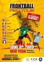 Pelotaris vascos y de otros siete países compiten el sábado en la modalidad de Frontball en Nueva York