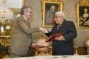 Miguel Sanz firma un convenio con Piura, Perú, para fortalecer vínculos históricos, culturales y económicos