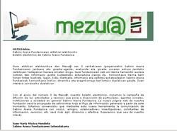 La Fundación Sabino Arana crea el boletín Mezu@ para acercar a la población las actividades de la entidad