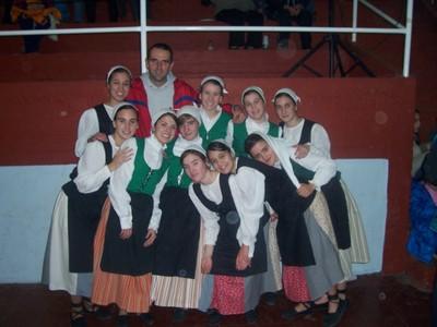 Grupo de Baile Gazte Alai Necochea Buenos Aires Argentina