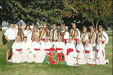 'Gauden Bat' Basque dancers of Chino