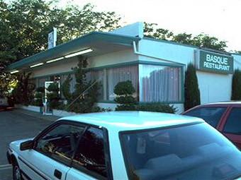 El Arnaud's Basque restaurant, fundado por Arnaud Mendisco en Winters, California