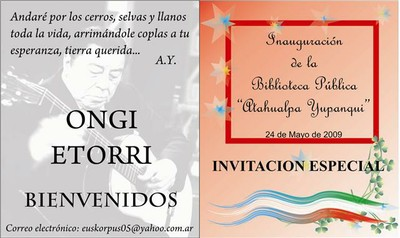 Atahualpa Yupanqui liburutegia