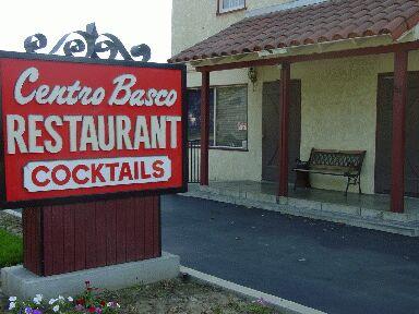 Centro Basco Basque Restaurant Chino California United States (USA)