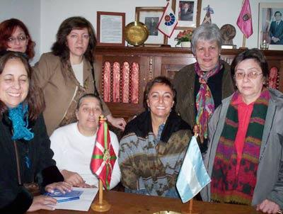 Emakume Abertzale Batza Basque Women Association Buenos Aires Argentina