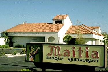 Bakersfield-eko 'Maitia' jatetxe zaharra