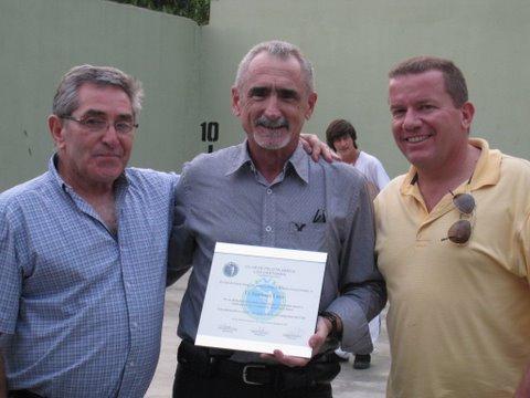Tributo a Santiago Lazo en Venezuela, al culminar el 50 aniversario de la Cooperativa Los Castores