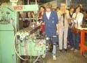 El CV Itxaropen hizo entrega de la fresadora donada por el Gobierno Vasco a la Escuela Técnica Nº 1 de Saladillo