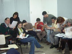 La Universidad de Buenos Aires (UBA) inicia con el apoyo de FEVA un nuevo curso de euskera y cultura vasca