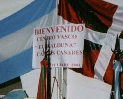 Satisfacción en el CV de Carlos Casares ante el desarrollo y el alto nivel de su 'Exhibición de Pelota Vasca'