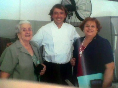 El chef vasco Borja Blázquez y la Euskal Etxea de San Juan