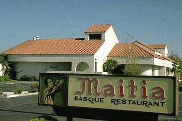 Maitia Basque restaurant in Bakersfield
