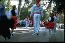 Johnson County Basque festival in Story, WY. 'Zaharrer Segi' dancers