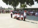 Dantzari Onestak dance group of Chino, CA performing at local Fairgrounds
