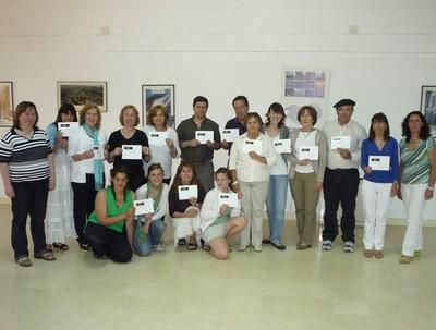 Entrega diplomas en el Día del Euskera 001