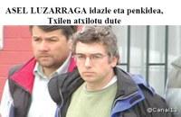 Asel Luzarraga idazle eta penkidearen atxiloketaren aurrean Euskal PEN Klubaren agiria askatzea eskatuz