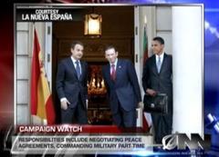 Zapatero, Ibarretxe eta Obama