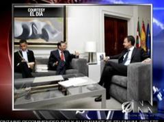 Obama, Ibarretxe, Zapatero