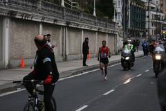 Abdelkebir Lamachi Donostiako maratoian