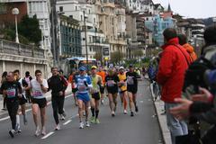 Korrikalari taldea Donostiako maratoian (I)