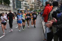 Korrikalari talde bat Donostiako maratoian (II)