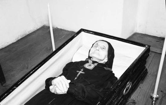 92 urteko Simona Anaut euskalduna, hildakoan