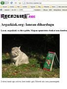 Argazkiak.org errore mezua