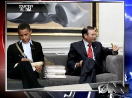 Obama eta Ibarretxe