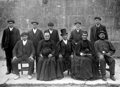 Lizartzako agintariak 1914. urtean.
