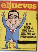 PPk Patxi Lopezi gobernatzeko luzatu dion eskua (El Jueves)