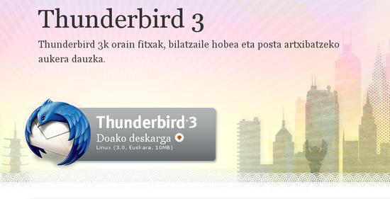 Thunderbird posta-bezeroa