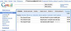 Gmail euskaraz